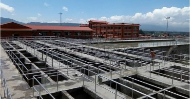 Construction of Melamchi Drinking Water Processing Centres completes