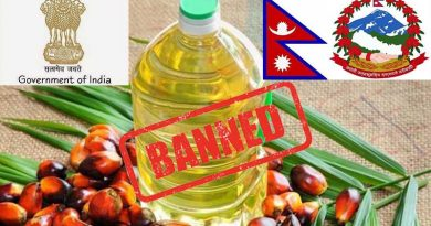 India again bans import of palm oil from Nepal