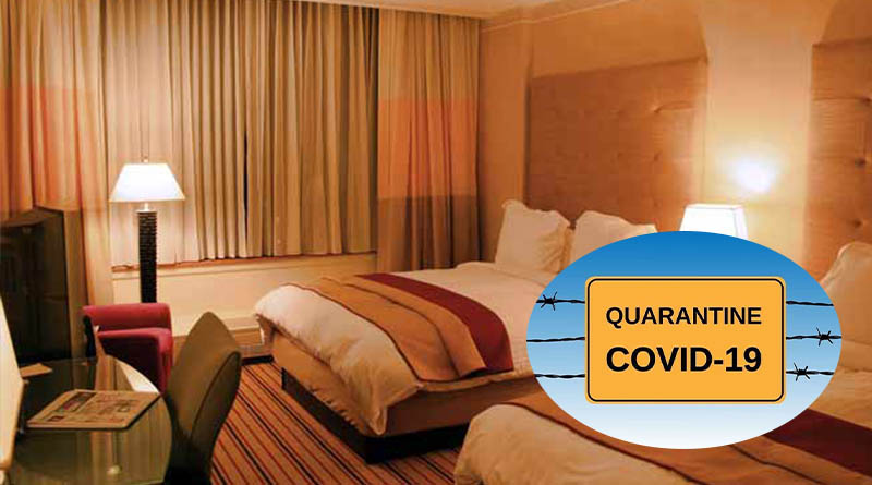 resorts to be used as quarantines