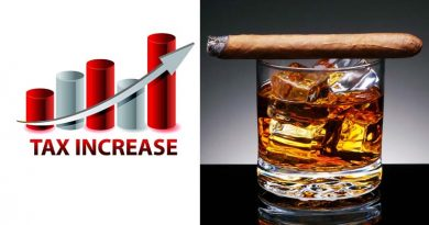 Parliamentary body directs govt to hike tax on alcohol and tobacco
