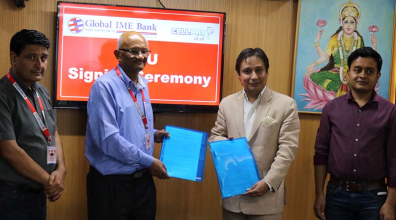 Global IME Bank collaborates with CellPay
