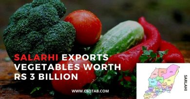 The district has witnesses the export of vegetables worth more than 3 billion rupees in the last fiscal year 2019/20. They were produced
