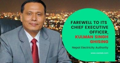 NEA bids farewell to CEO Ghising