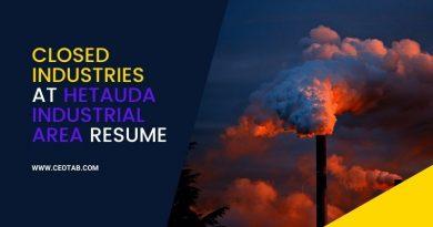 Closed industries at Hetauda industrial area resume