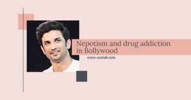 Nepotism and drug addiction in Bollywood