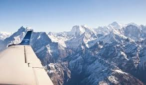 Private airlines vie to attract tourists for mountain flights