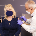 Covid-19: Dolly Parton marks vaccination with Jolene rewrite