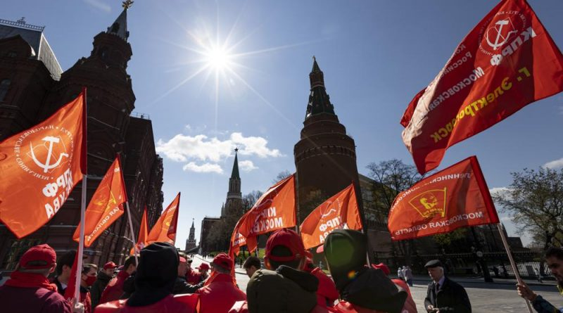 May Day protesters demand more job protections amid pandemic